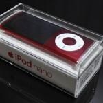 ipod nano PRODUCT RED